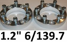 1pr Wheel Hub Spacers 6 Stud Toyota Landcruiser 40 45 47 55 60 73 75 80 series