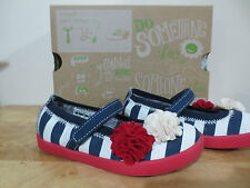 TODDLER GIRLS MORGAN AND MILO RED WHITE BLUE PATRIOTIC MARY JANE SHOES SIZE 9