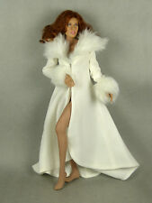 1/6 Scale Phicen, Hot Toys, Hot Plus - Sexy Female White Fur Night Dress Gown