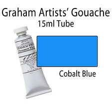 M. Graham Artists' Gouache Cobalt Blue (Spectrum)  15ml Tube 36-090