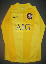 2006-2007 Nike Manchester United Goalkeeper Long Sleeve Home Jersey Shirt Kit