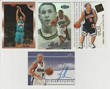 Mike Bibby 2003-04 UD FINITE SIGNATURE CARD & ROOKIE CARDS