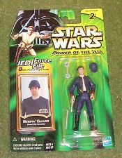 STAR WARS POWER OF THE JEDI CARDED BESPIN GUARD CLOUD CITY SECURITY