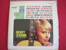 """HENRY JEROME - THAT NEW COUNTRY FEELING - NEW SEALED COMPACT 33 7"""" LP JUKEBOX"""