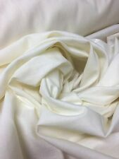 "CREAM SATEEN CURTAIN LINING 48"" WIDE FABRIC 10 METRES."