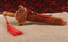 Chinese Peach Wood Sword Lucy Decoration Blessing Wedding Gift Exorcise Evil