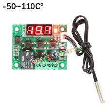-50 - 110 ° C W1209 Digital-Thermostat Temperaturregelung Schalter 12V + Sensor