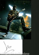 "Motorhead Phil ""Wizzo"" Campbell signed autograph UACC AFTAL"