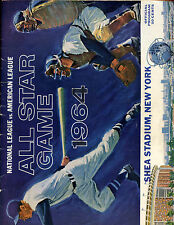 1964 MLB Baseball All Star Game Program at New York Mets