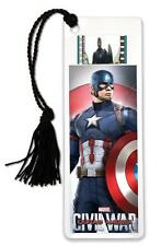 CAPTAIN AMERICA CIVIL WAR 2016 Marvel Disney MOVIE FILM CELL and PHOTO BOOKMARK