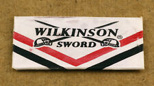 7x Wilkinson Sword Stainless Blades Vintage New Old Stock