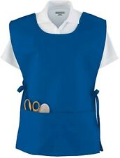 WOMEN'S SMOCK, APRON, TUNIC, ADJUSTABLE SIDE TIES, DIVIDED POUCH POCKET, OSFA