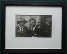 Baron von Koenig-Warthausen Signed Photo - 1st Man to Fly Around the World 1929