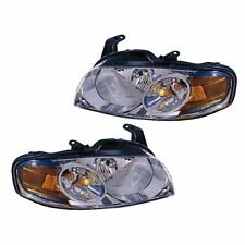 For Nissan Sentra Base/S 04-06 Headlights Headlamps Pairset Left&Right