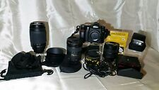 NIKON D50 CAMERA, LENSES & ACCESSORIES COLLECTION – EXCELLENT CONDITION