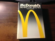 McDonald's Behind the Golden Arches by John Love 1st Hardcover w/ Dust Jacket