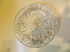 Antique Vintage Scale of Justice Glass Dish Insert