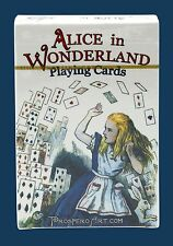 Alice in Wonderland Playing Cards - Blue Deck - Lewis Carroll - Cheshire Cat