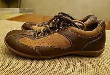 Born Shoes -  Brown Leather Suede Lace Athletic Oxford Vented W62141 sz 8M