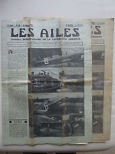 AILES 1934 696 ISTRES RYAN S-T DELMOTTE ARCHITECTURE LONDON MELBOURNE ARMEMENT