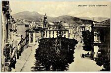 Cartolina Formato Piccolo - Salerno - Da Via Indipendenza Non Viaggiata