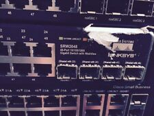 Cisco Linksys SRW2048 48-port 10/100/1000 Gigabit Ethernet Switch WITH WEBVIEW