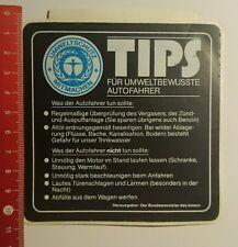 Aufkleber/Sticker: Tips für umweltbewusste Autofahrer (18071669)
