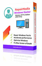Windows XP Pro Doctor Data Repair Recovery ReInstallation DVD Software PC(32bit)