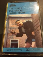 """JAMES YOUNG """"THE YOUNG ULSTERMAN"""" TAPE CASSETTE 1973 EMERALD RECORDS"""
