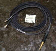 "7FT AUDEZE LCD-2 LCD-3 LCD-4 LCD-X Silver Plated upgrade cable 1/4"" Made USA"