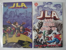 JLA WORLD WITHOUT GROWN-UPS #1+2 DC GRAPHIC NOVELS (2)
