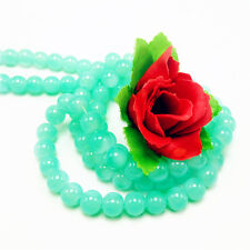 Hot 100pcs 4mm Green Czech Crystal Jewelry Charm Loose Round Beads