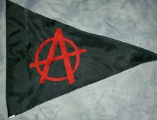Custom TRIANGLE ANARCHY Safety Flag 4 ATV JEEP Dirtbike UTV Dune Safety pole