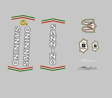 Sannino Bicycle Frame Decals - Transfers - Stickers n.110
