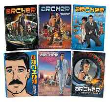 Archer: The FX TV Series Complete Seasons 1 2 3 4 5 6 DVD Box Sets + Extras NEW!