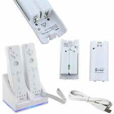 CHARGING & DOCKING STATION FOR 2 WII REMOTES WITH 2 BATTERIES