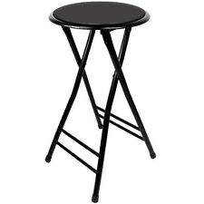 24 Inch Cushioned Folding Stool - Trademark Home - Set of 2 - Holds up to 250lb