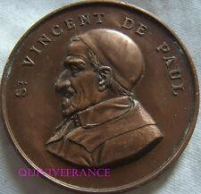 MED5581 - MEDAILLE ST VINCENT DE PAUL - CONFERENCE DE ST LEU 1900 par TROTIN