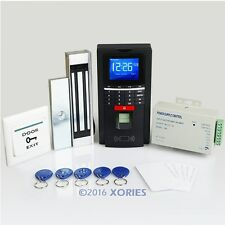 Fingerprint And ID Card Reader Access Control System Kit With Magnetic Door Lock