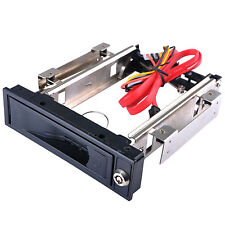 "External 3.5"" SATA HDD Hard Disk Drive Mobile Rack Win XP/7/8/10 Mac OS Linux UK"