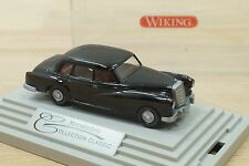 Wiking Modellauto Mercedes-Benz Collection Classic 300d Limousine schwarz in OVP