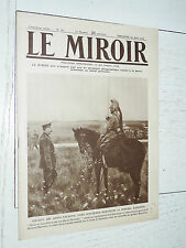MIROIR 29/08 1915 GUERRE 14-18 KITCHENER BARATIER TRANCHEES N-D-LORETTE LOSQUES