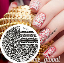 Nail Art Stamp Stamping Template Image Plate Lace Pattern BORN PRETTY BP02
