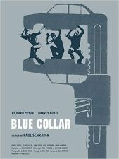 Affiche 120x160cm BLUE COLLAR 1974 Paul Schrader, Richard Pryor, Harvey Keitel R