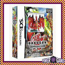 Bakugan Defenders of the Core & Action Figure (Nintendo NDS DS lite Dsi XL) BN