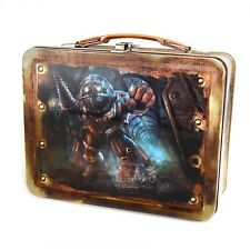 Bioshock Big Daddy Metal Lunch Tin NEW Lunch Carrier Box Video Game