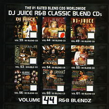 DJ JUICE R&B Blends 44 Mash Ups Old School R&B Blends (Mix CD) Mixtape
