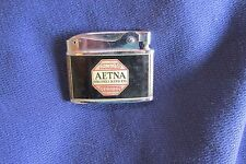 Aetna Pumps Engineering Co. Cigarette Lighter, Wonderful Condition, Free Ship
