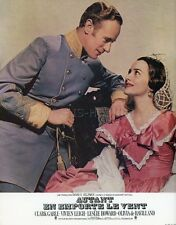 LESLIE HOWARD  VIVIEN LEIGH GONE WITH THE WIND 1939  VINTAGE LOBBY CARD #2