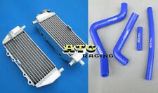 For Kawasaki KX125 KX 125 99-02  00 01 aluminum radiator and silicone hose